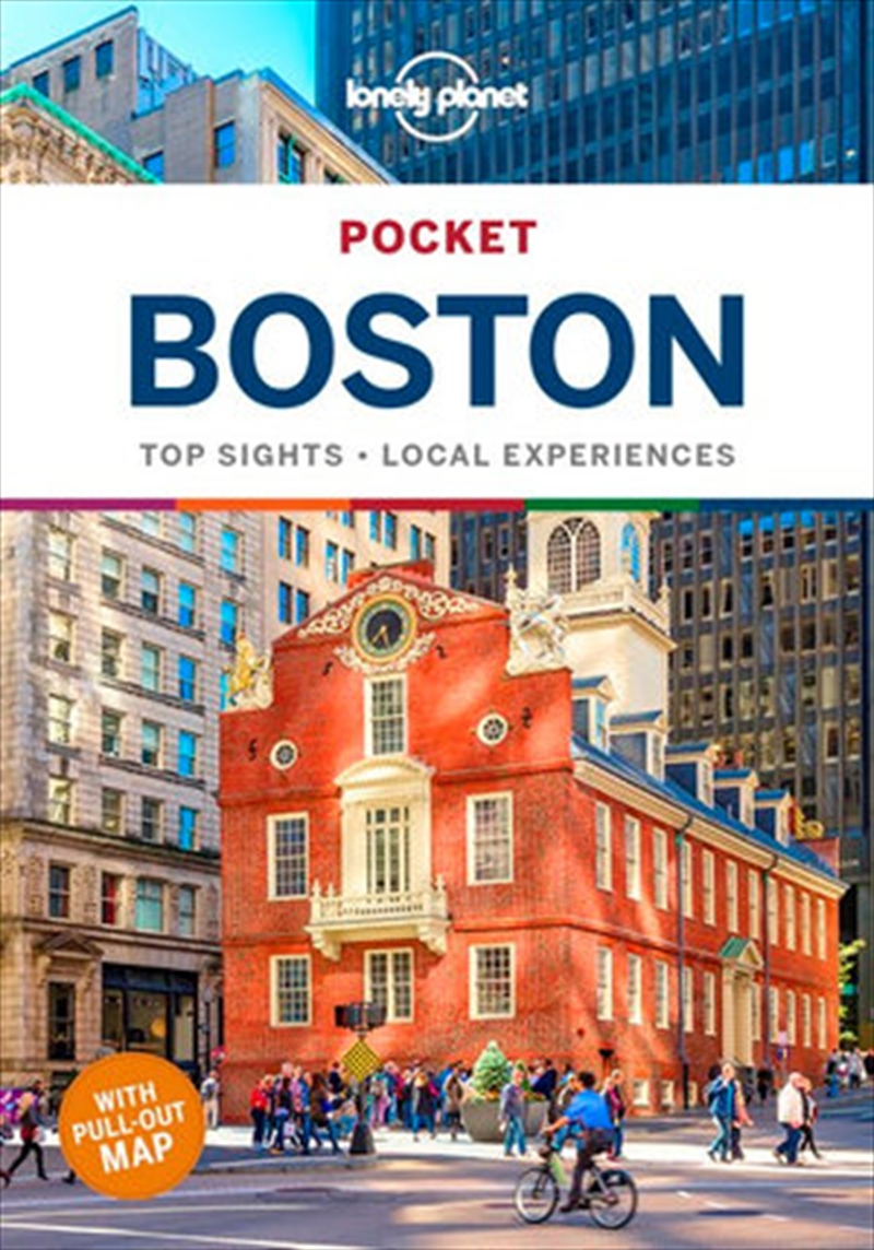 Lonely Planet Pocket Boston Travel Guide | Paperback Book