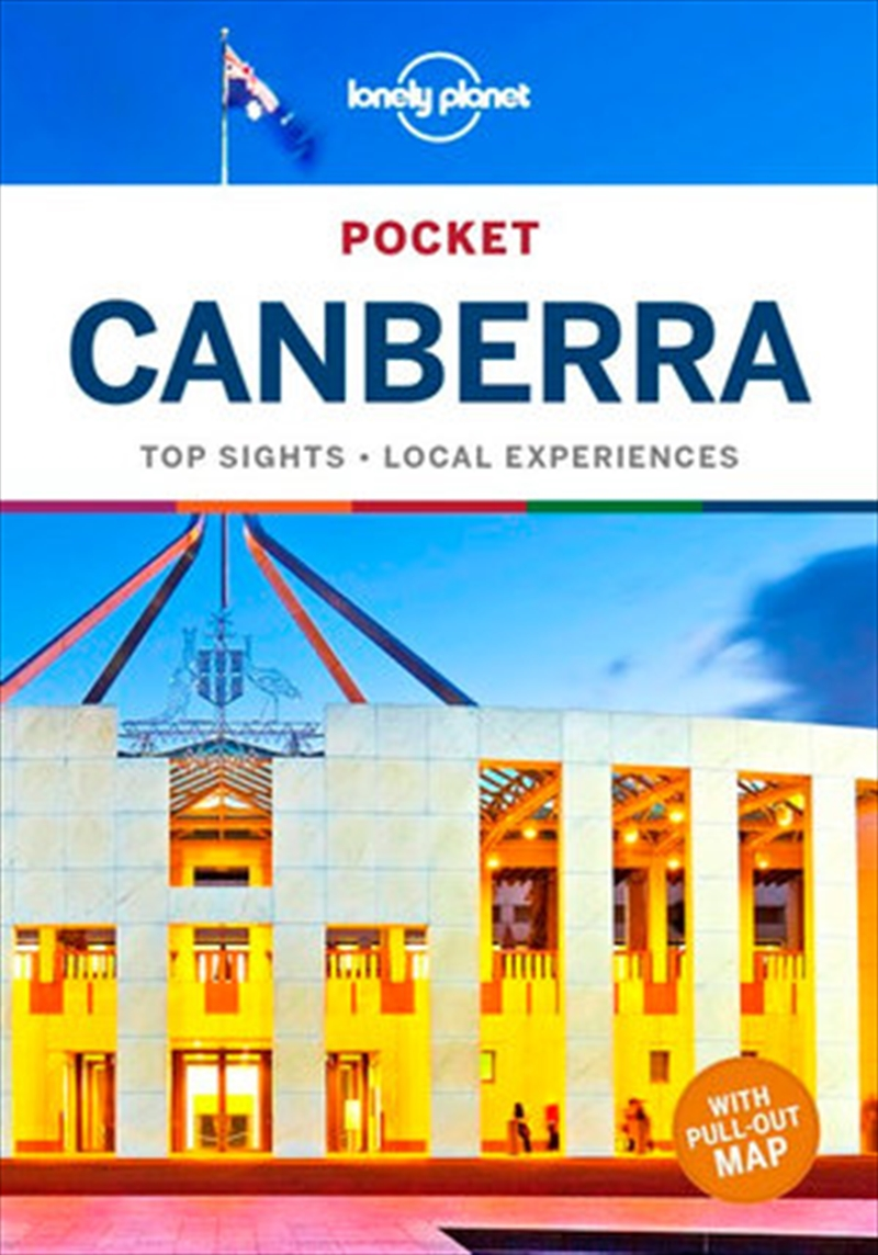 Lonely Planet Pocket Canberra Travel Guide   Paperback Book
