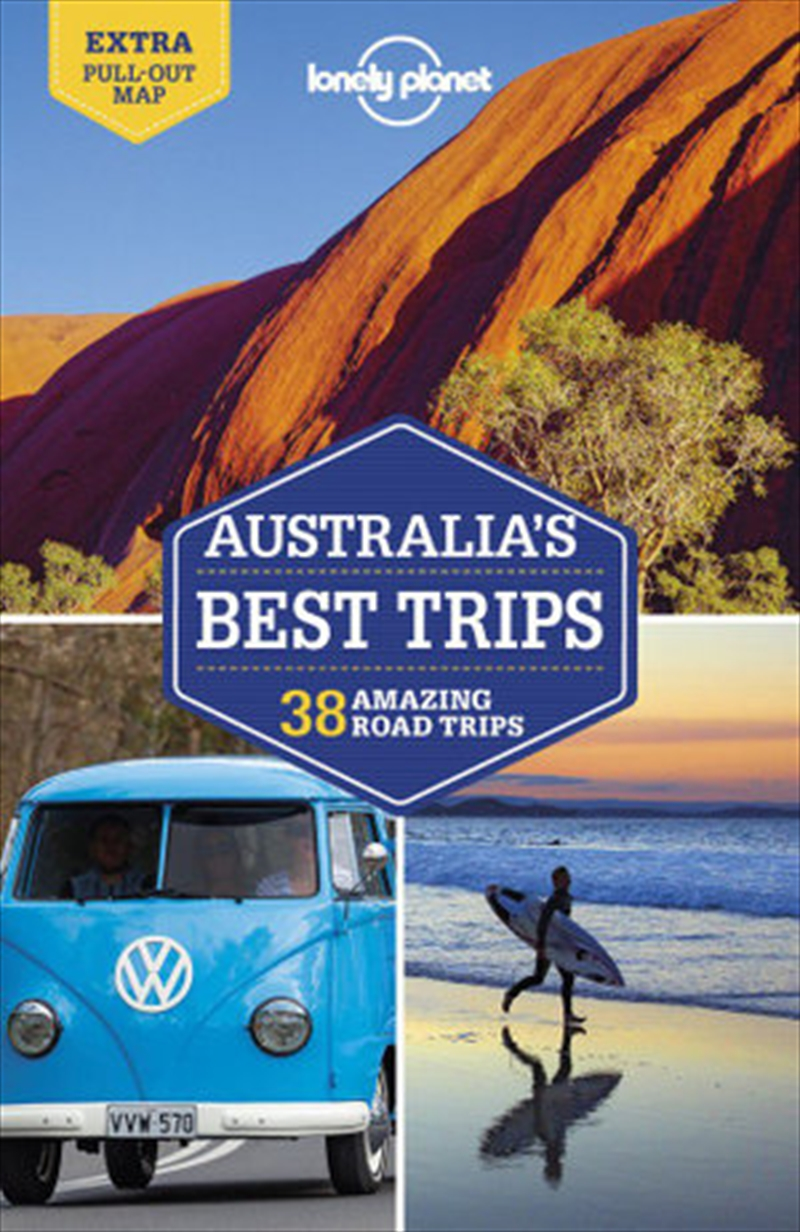 Lonely Planet Australia's Best Trips Travel Guide | Paperback Book