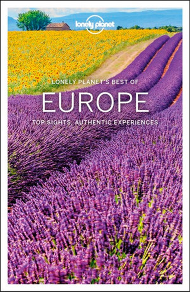 Lonely Planet Best of Europe Travel Guide | Paperback Book
