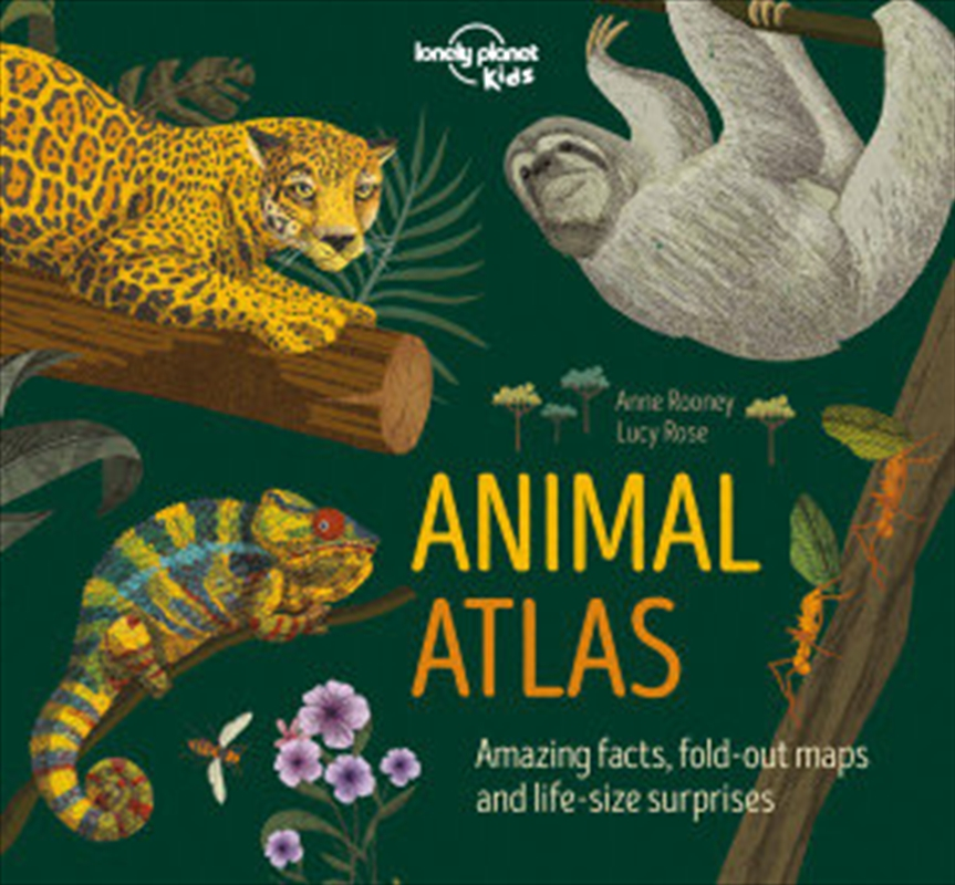 Lonely Planet Kids - Animal Atlas | Hardback Book