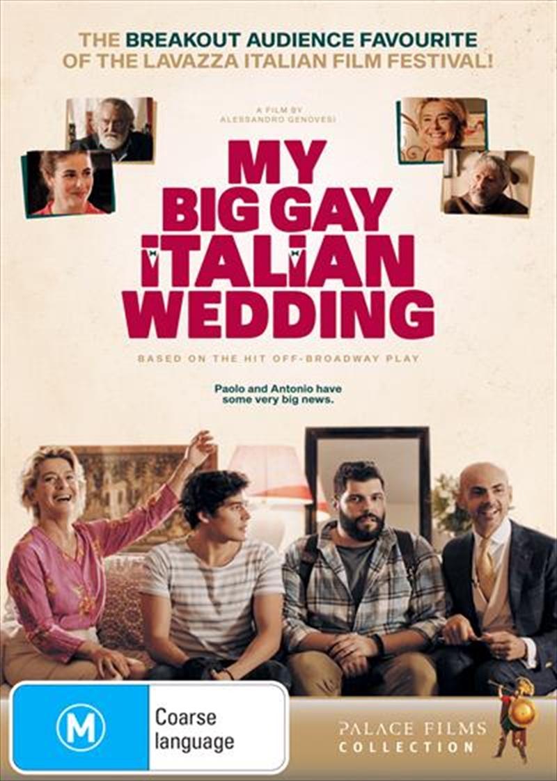 My Big Gay Italian Wedding | DVD
