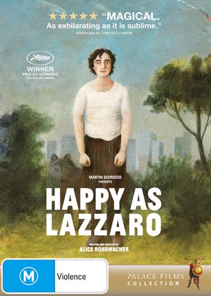Happy As Lazzaro | DVD