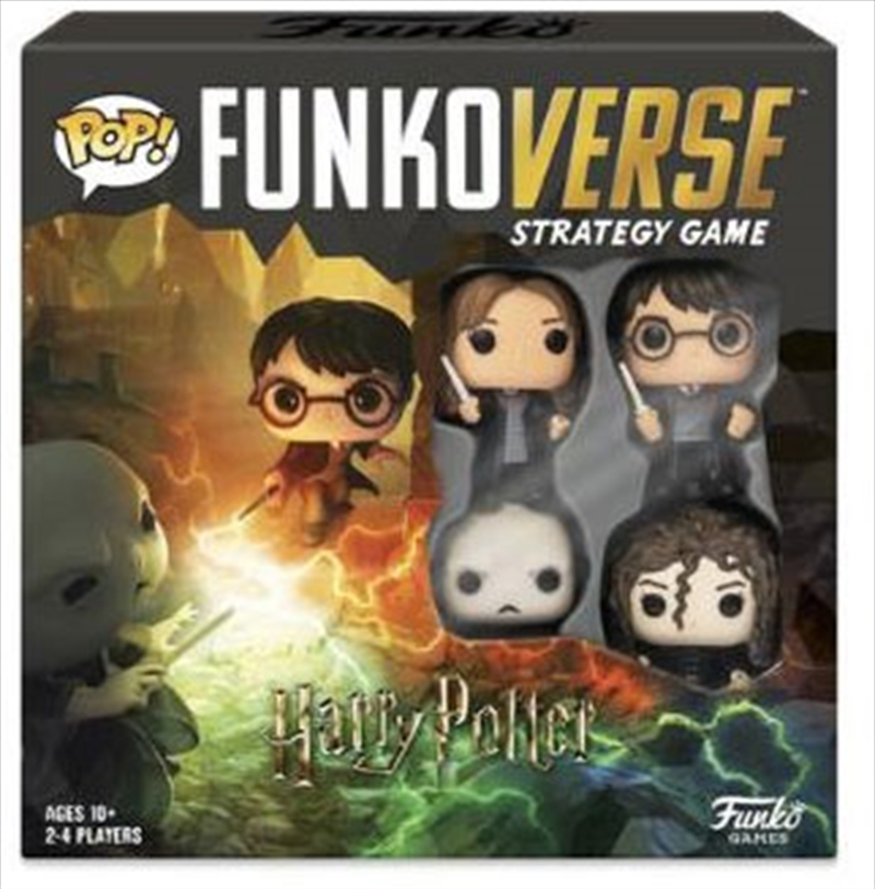 Funkoverse - Harry Potter 4-pack Strategy Board Game   Games