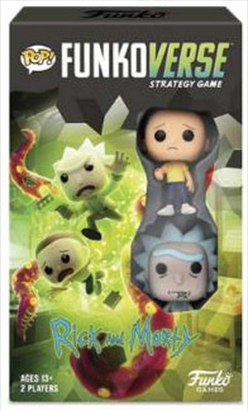 Funkoverse - Rick & Morty 2-pack Expandalone Strategy Board Game | Games
