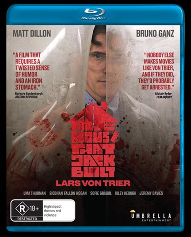 House That Jack Built, The   Blu-ray