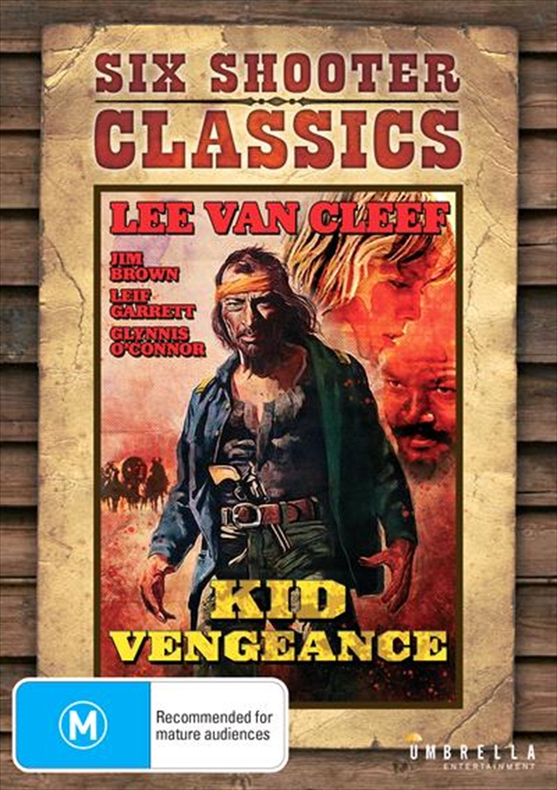 Kid Vengeance Six Shooter Classics | DVD