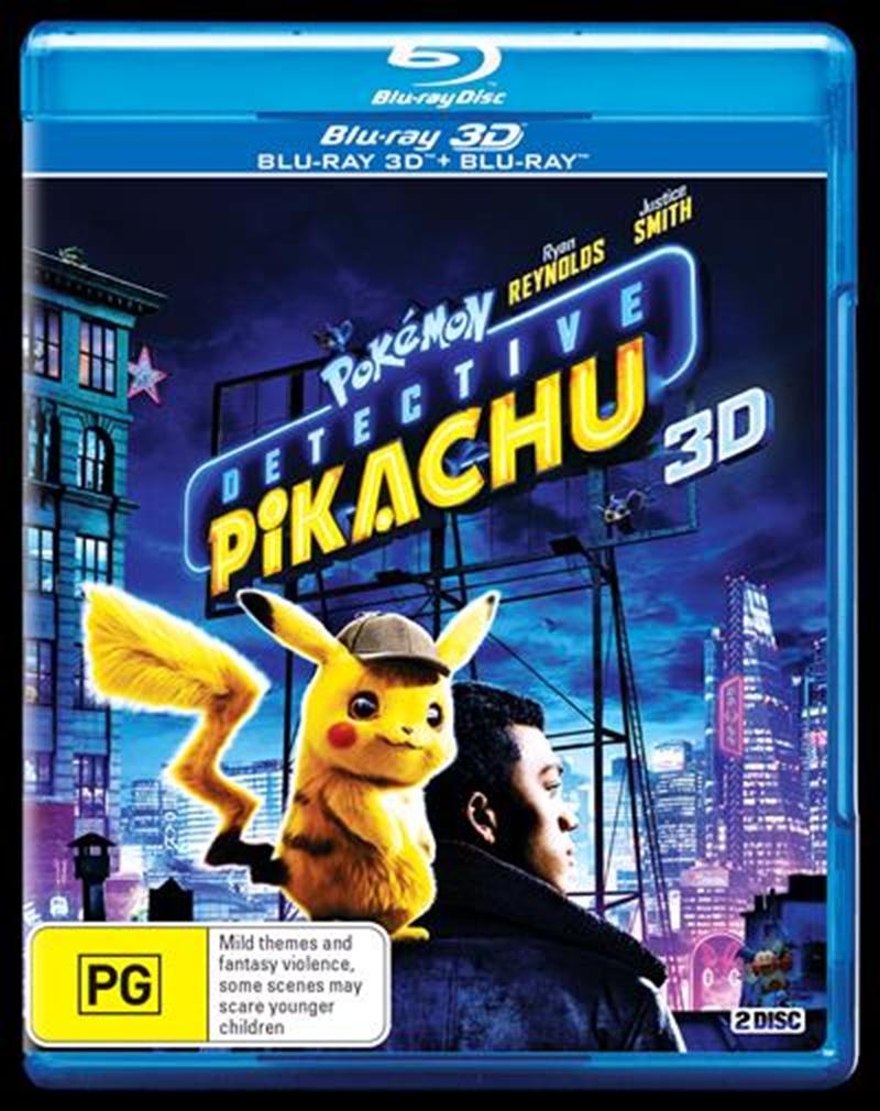 Detective Pikachu   Blu-ray 3D