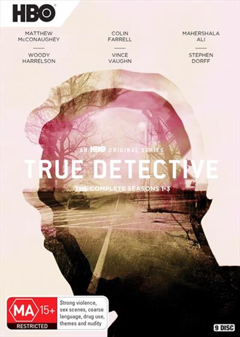 True Detective - Season 1-3 | Boxset | DVD