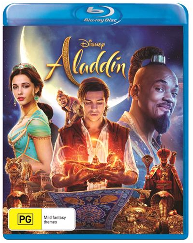 Aladdin Live Action | Blu-ray