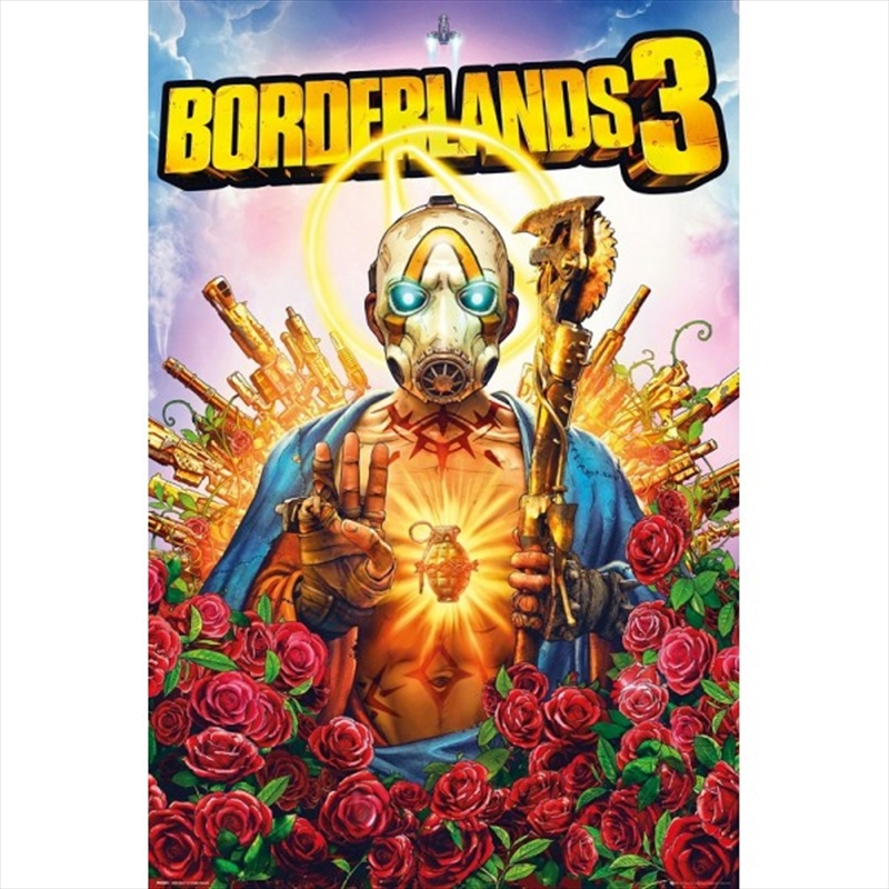 Borderlands 3 Cover | Merchandise
