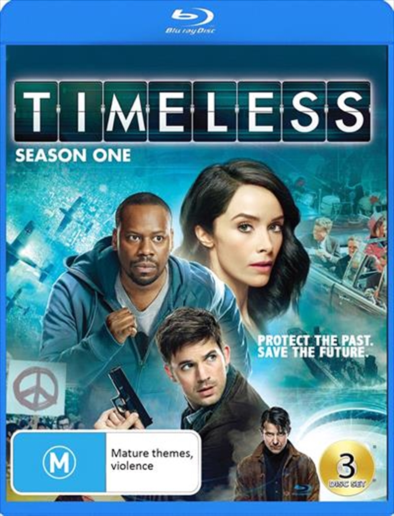 Timeless - Season 1 | Blu-ray