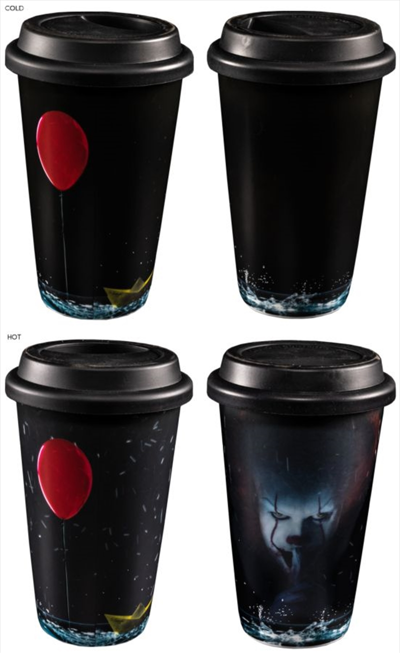 It (2017) - Pennywise Heat Change Travel Mug | Merchandise