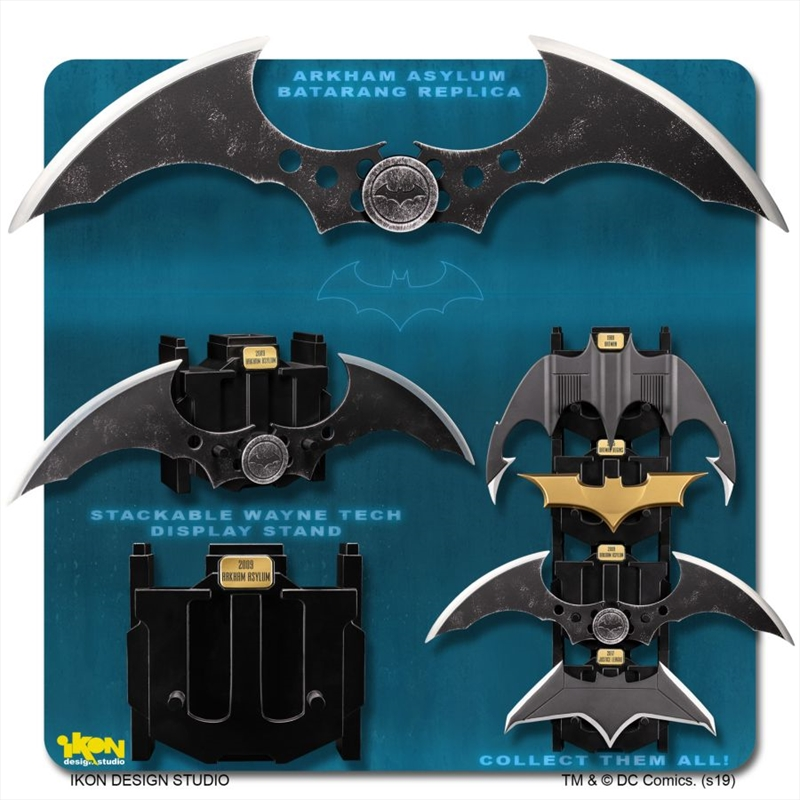 Batman: Arkham Asylum - Batarang Metal Replica | Collectable