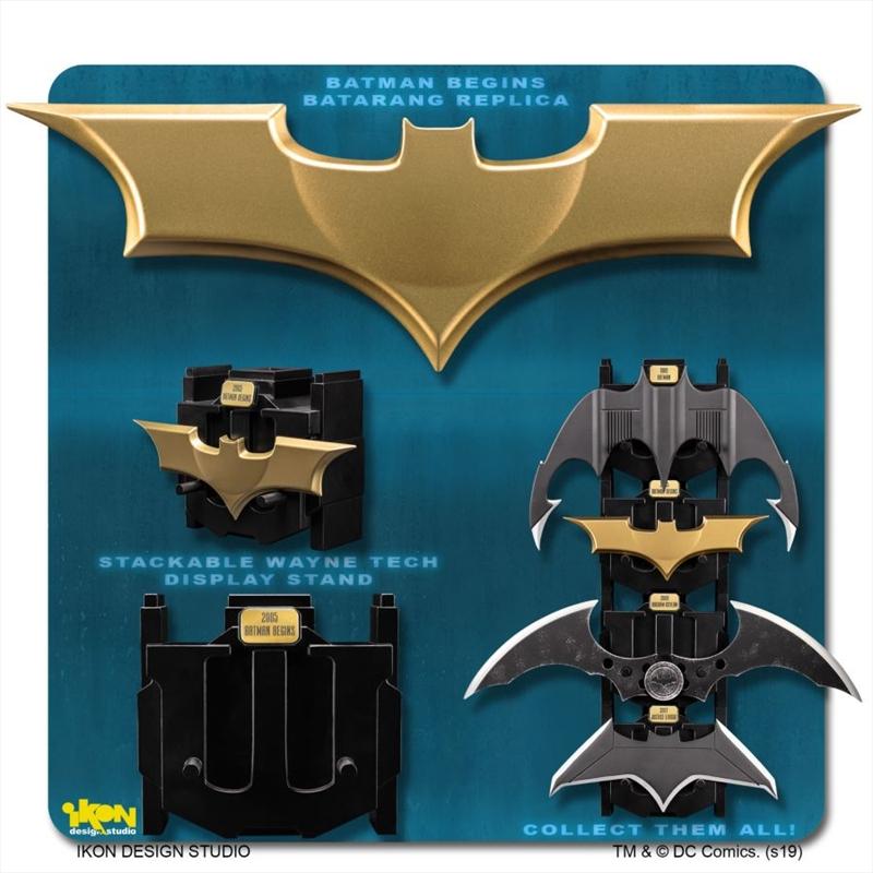 Batman Begins - Batarang Metal Replica | Collectable