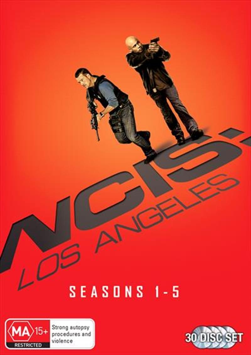 NCIS - Los Angeles - Season 1-5 | Boxset | DVD