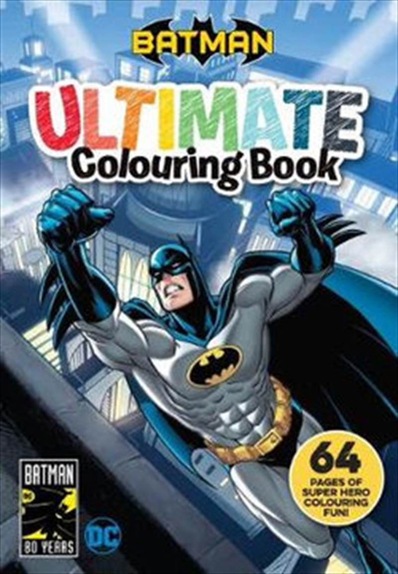 Batman: Ultimate Colouring Book | Paperback Book