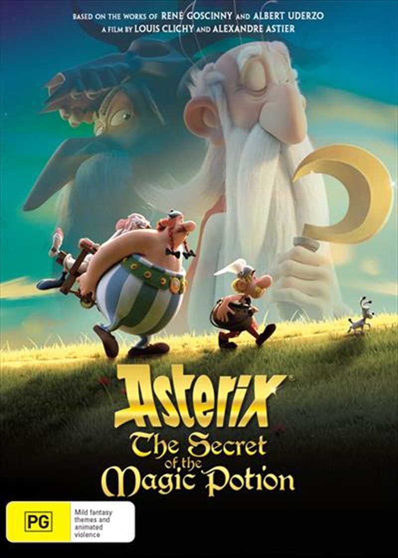 Buy Asterix - The Secret Of The Magic Potion on DVD | On