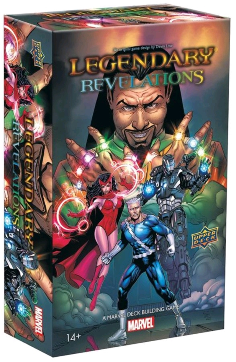 Marvel Legendary - Revelations Deck-Building-Game Expansion | Merchandise