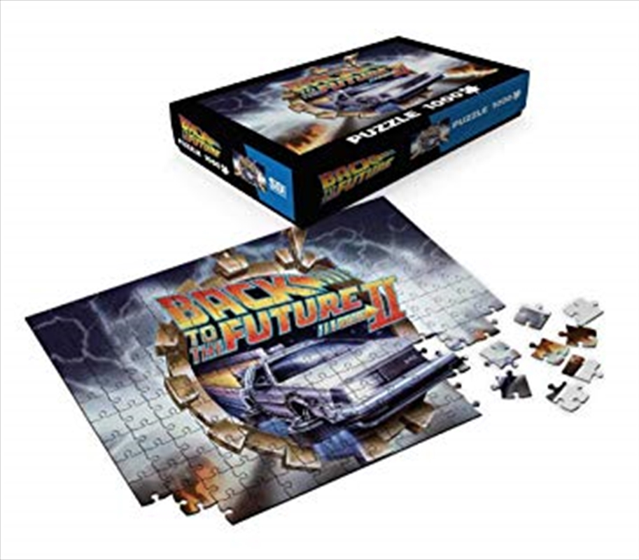 Back To The Future - Delorean 1000 Piece Puzzle | Merchandise