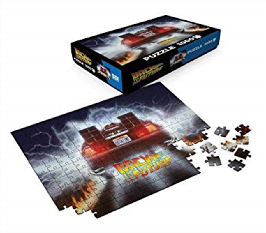 Back To The Future - Out-A-Time 1000 Piece Puzzle | Merchandise