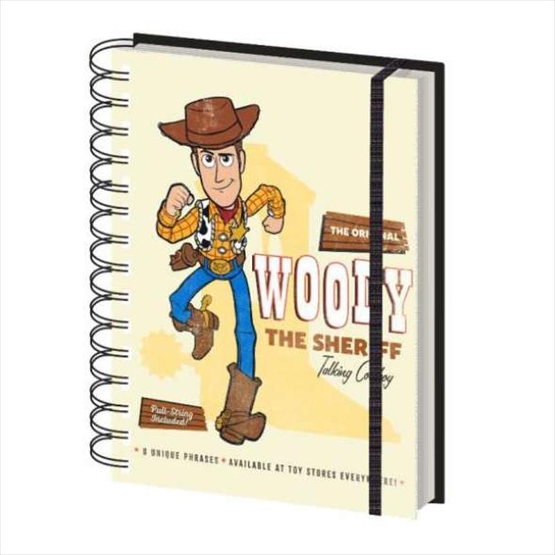 Toy Story 4 - Woody Retro Notebook   Merchandise