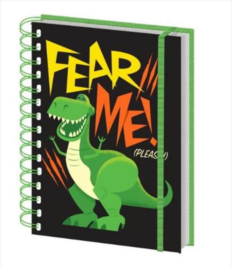 Toy Story 4 - Rex Fear Me Notebook | Merchandise