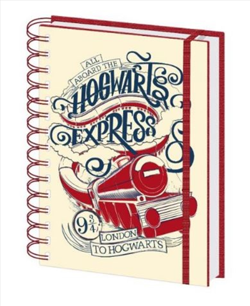 Harry Potter - Aboard The Hogwarts Express Notebook | Merchandise