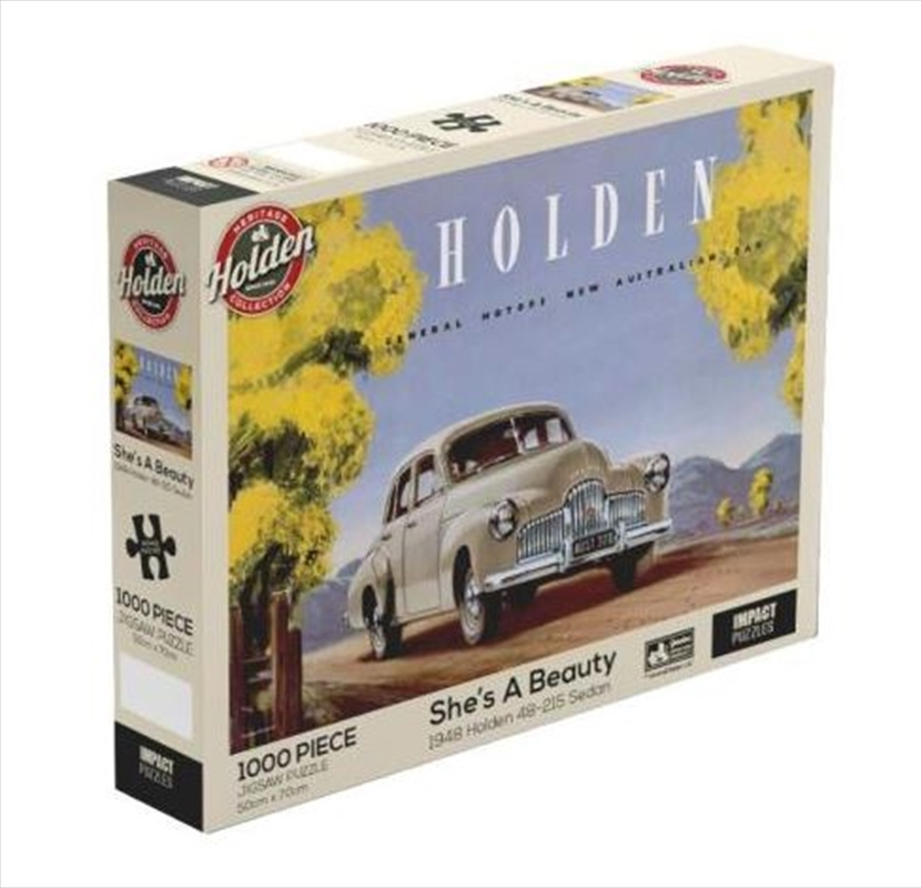 Holden - She's A Beauty 1000 Piece Jigsaw Puzzle | Merchandise
