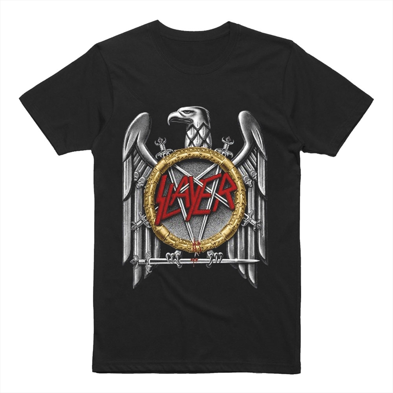 Slayer - Vintage Eagle Tshirt - M | Apparel