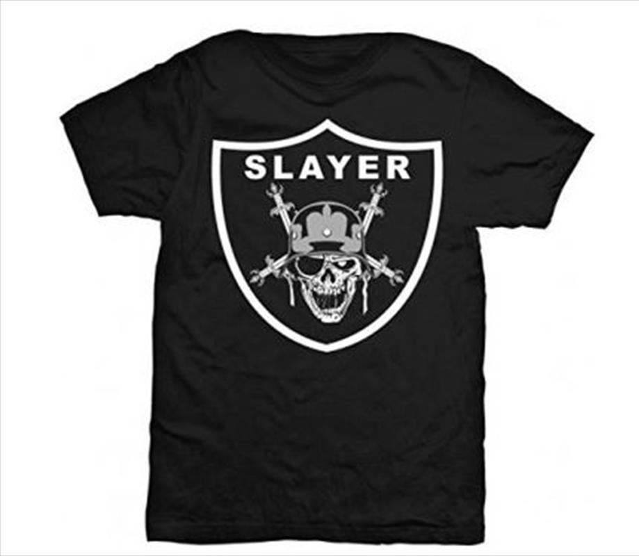 Slayer Raiders Logo Tshirt - L | Apparel