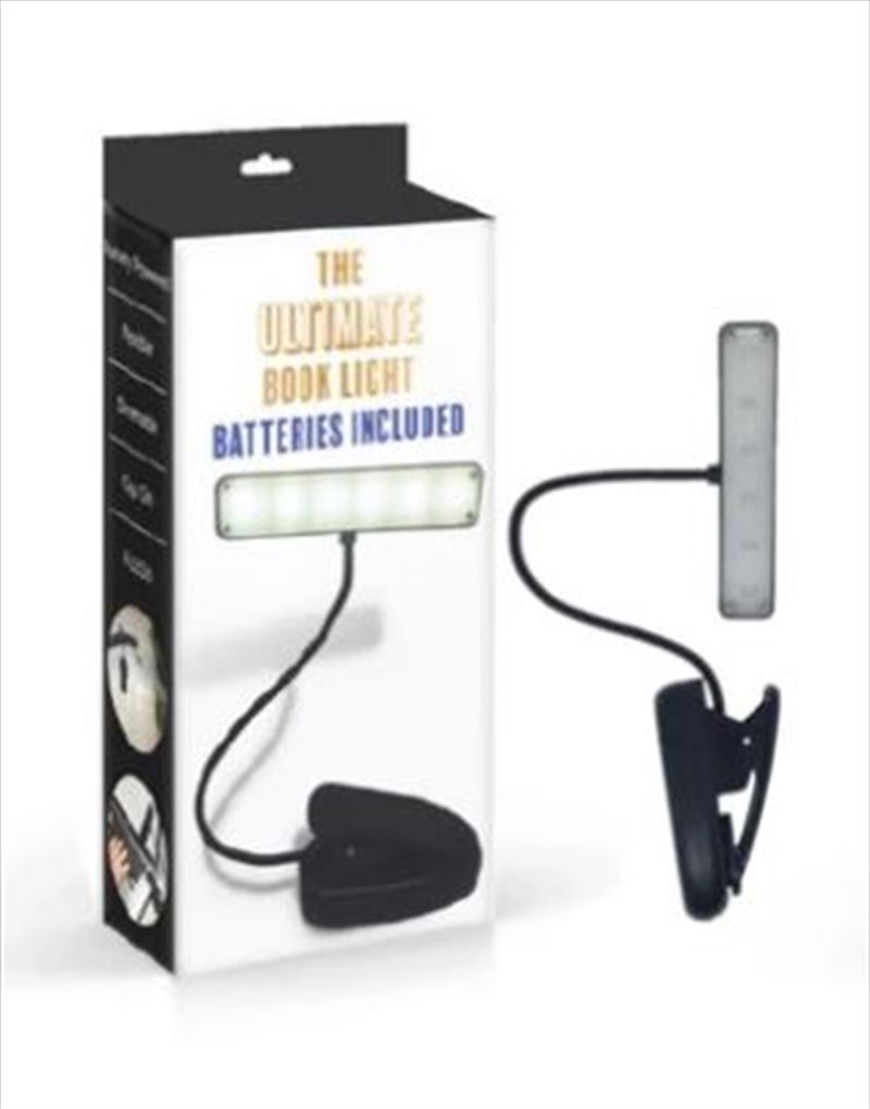 Ultimate Book Light Aaa Black | Merchandise