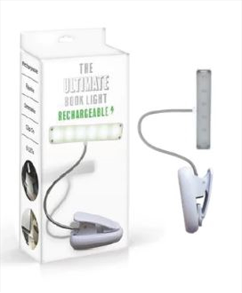 Book Light Rechargeable White | Merchandise
