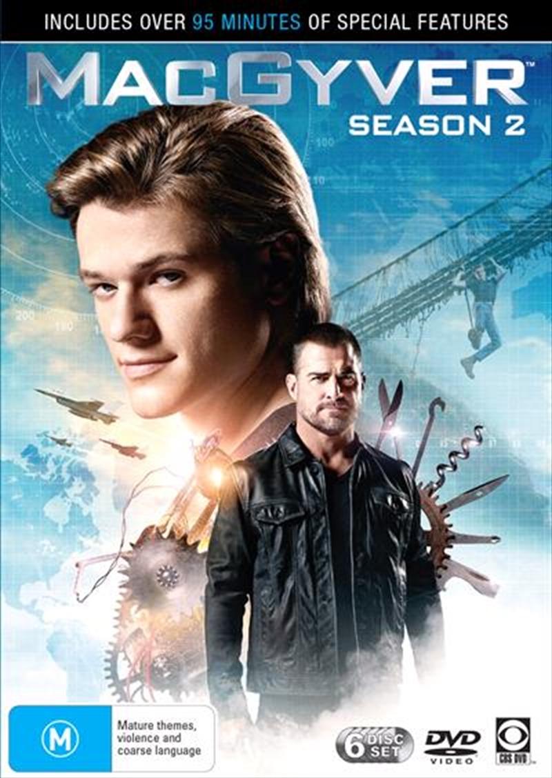 MacGyver - Season 2   DVD