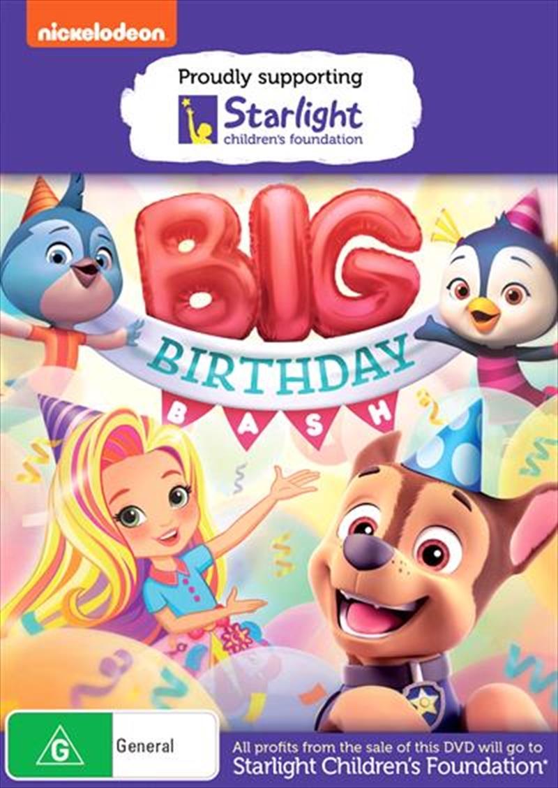 Nick Jr.'s Big Birthday Bash | Starlight Foundation | DVD