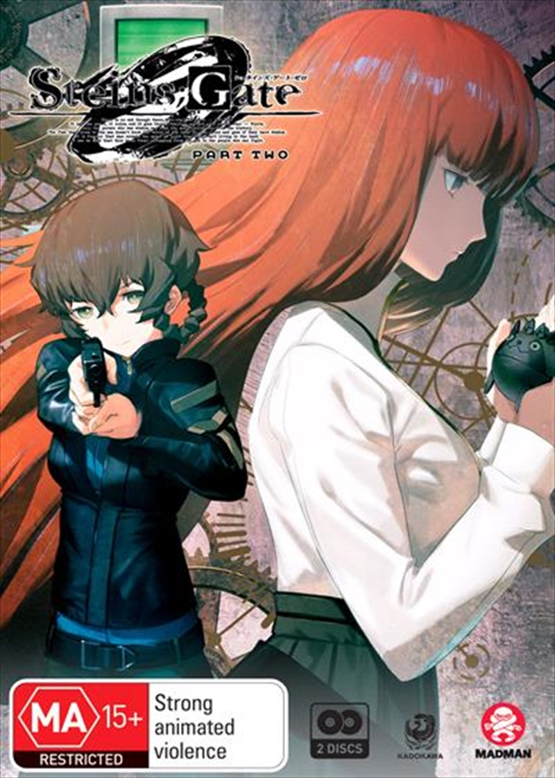 Steins;Gate 0 - Part 2 - Eps 13-23 | + Ova | DVD
