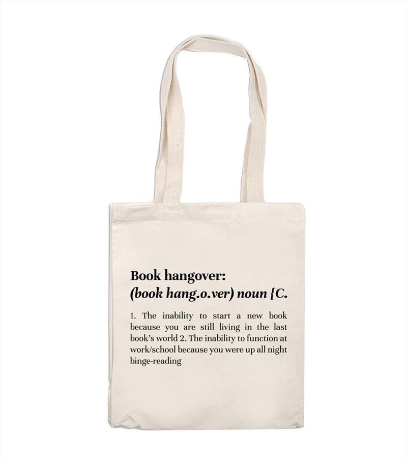 Book Hangover Tote Bag | Apparel