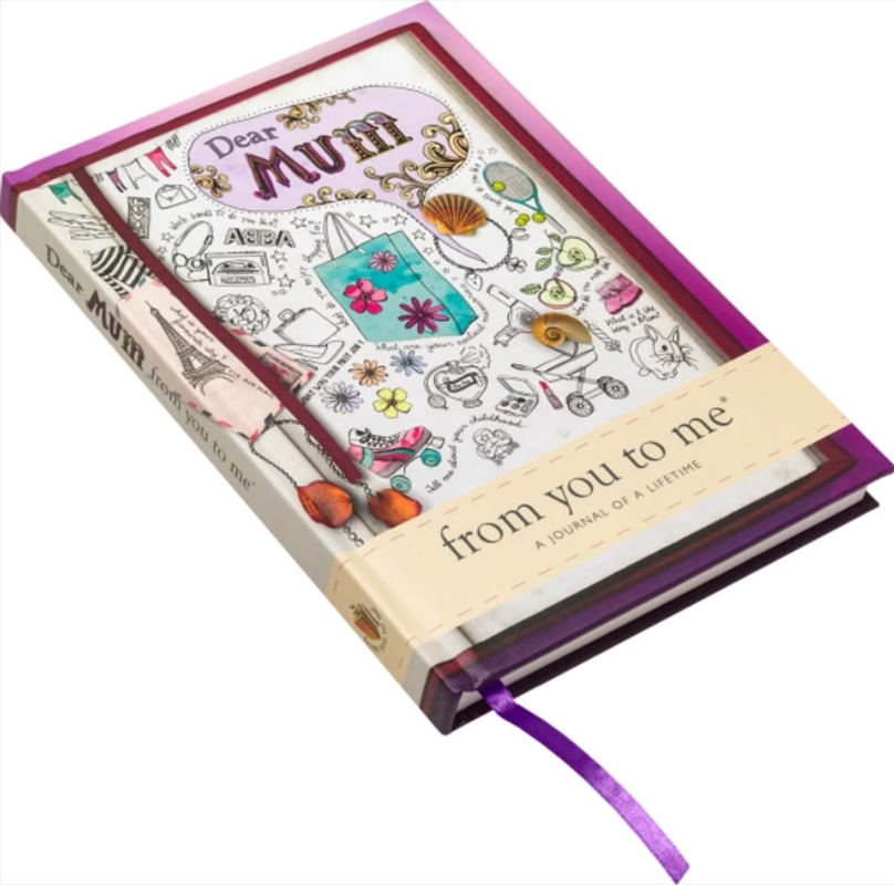 Dear Mum Contemporary Journal From You To Me | Merchandise