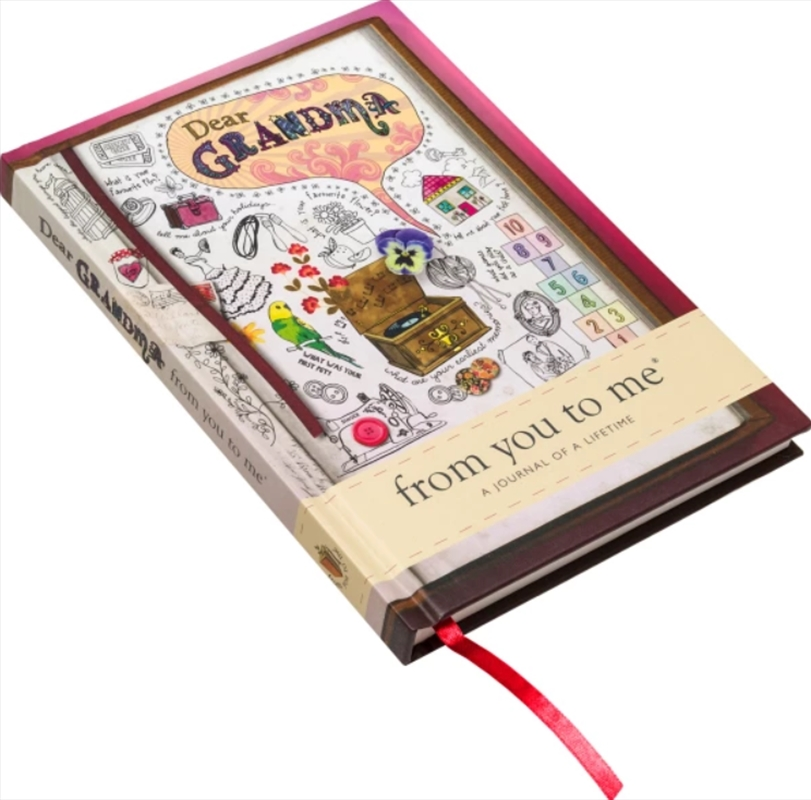 Dear Grandma Contemporay Journal From You To Me | Merchandise