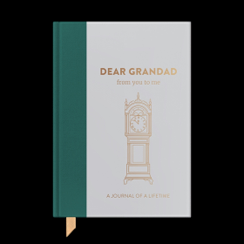 Dear Grandad Timeless Collection Journal From You To Me | Merchandise