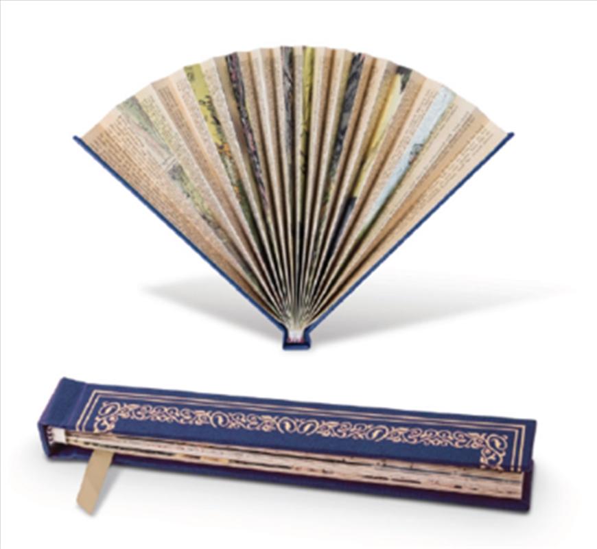 Book Fan Blue   Merchandise