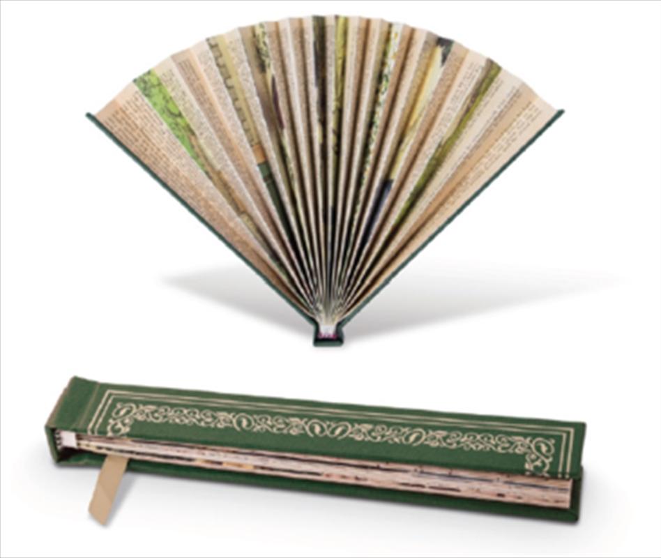 Book Fan Green | Merchandise