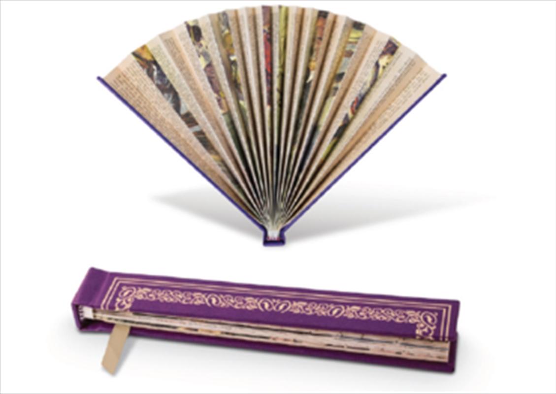 Book Fan Purple | Merchandise