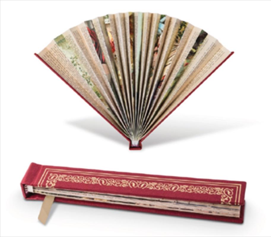 Book Fan Red | Merchandise