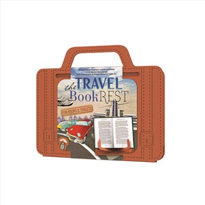 Travel Reading Rest Tan | Merchandise