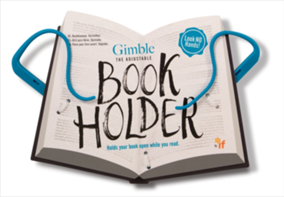 Gimble Book Holder - True Blue | Merchandise