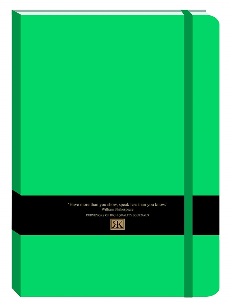 RK Journals - Jade Green Large Pu Journal | Merchandise
