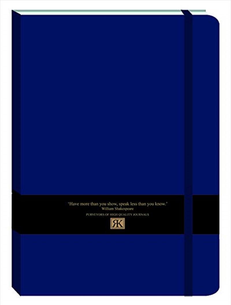 RK Journals - Midnight Blue Large Pu Journal | Merchandise