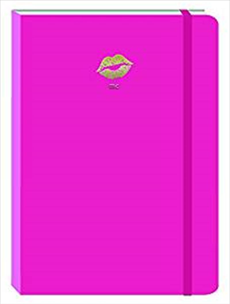 Lips Light Pink Motif Journal   Merchandise