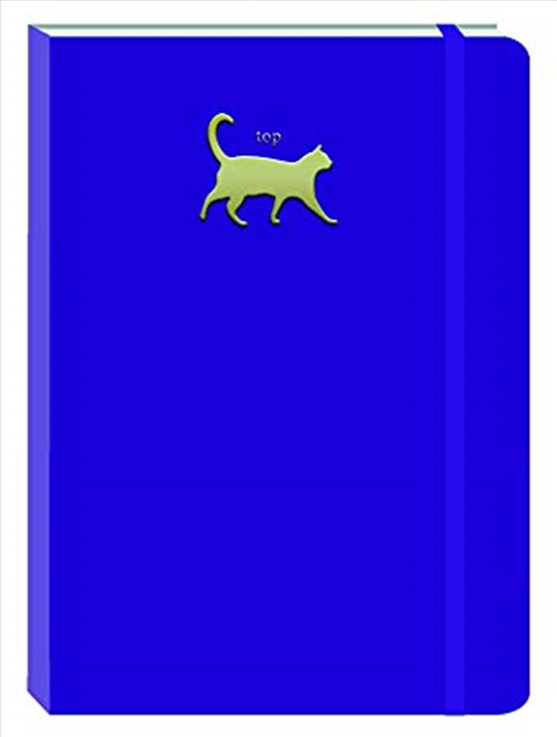 Cat Deep Purple Motif Journal | Merchandise
